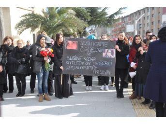 Sakarya'da Kadınlar Özgecan İçin Yürüdü