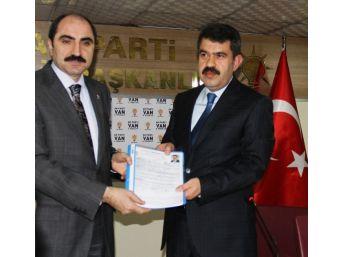 İzzet Albayrak, Ak Parti Van Milletvekili Aday Adayı