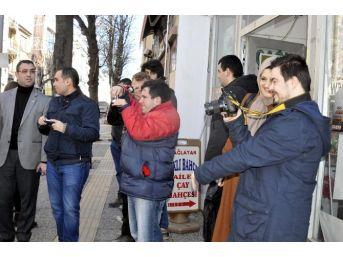 Yalova'da Engelliler Fotoğraf Çekmeyi Öğrendi