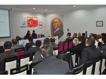 2015 Yılı Mali Destek Programları Eğitim Toplantısı Devrek'te Gerçekleşti