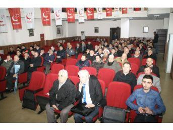 Devrek Saadet Partisi Teşkilatından Konferans