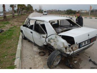 Ceyhan'da Trafik Kazası: 4 Yaralı