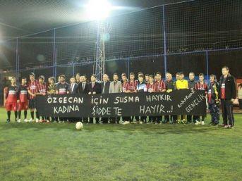 Karaisalı'da Halı Saha Futbol Turnuvası