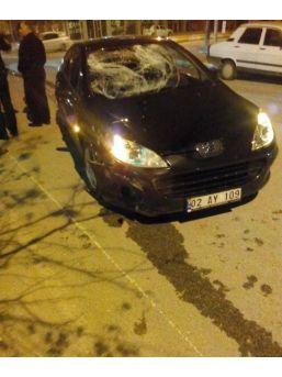 Adıyaman'da Otomobil Motosiklete Çarpı: 1 Yaralı