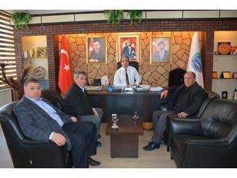 Sandıklı Minibüs Birliği'nden Belediye Başkanı Mustafa Çöl'e Teşekkür Ziyareti