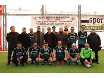 Amasya Obm'de Futbol Turnuvası
