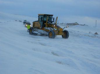 Kar Ve Tipi Ulgar Dağında Ulaşımı Aksattı