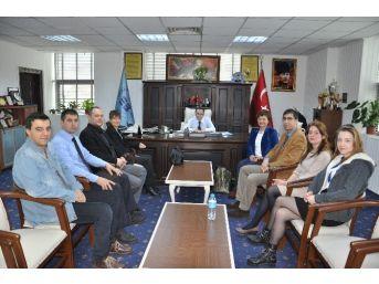 Antandros Derneği'nden Başkan Saka'ya Ziyaret