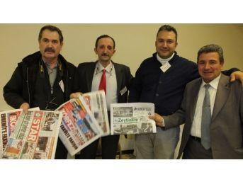 Burhaniye Ve Edremit Gazeteleri Çanakkale'de İlgi Gördü