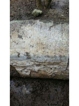 Yağmur Tarihi Mezar Taşlarını Ortaya Çıkarttı