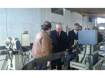 Bölge Müdürü Beşel, Ulus'ta Sanayicileri Ziyaret Etti