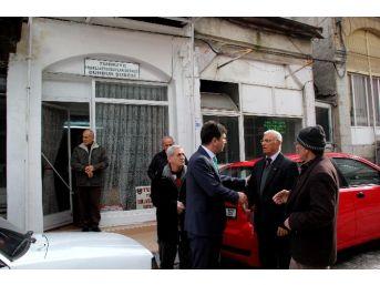 Başkan Ercengiz'den Taziye Ziyareti