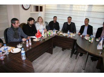 Ak Parti Aday Adayı Advan Güngiad'ı Ziyaret Etti