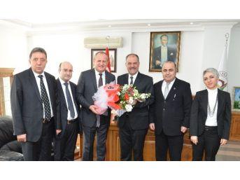 Kamar'dan Başkan Keleş'e Vergi Haftası Ziyareti