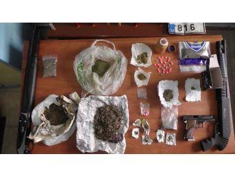 Edirne'de Uyuşturucu Operasyonuna 13 Gözaltı