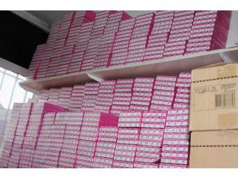 Gaziantep'te Gümrük Kaçağı Kozmetik Ürünler Ele Geçirildi