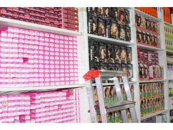 Gaziantep'Te Kaçak Kozmetik Ürün Operasyonu