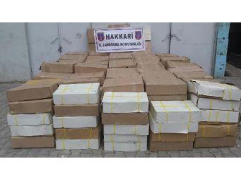 Yüksekova'da 4.7 Ton Kaçak Hayvansal Yağ Ele Geçirildi