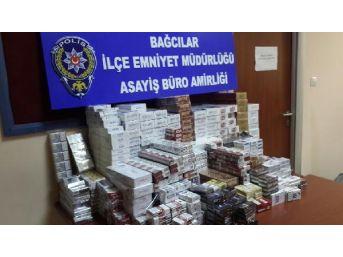 Bağcılar'da Kaçak Sigara Operasyonu