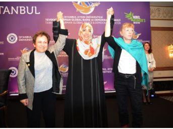 Nobel Barış Ödüllü Kadınlardan İstanbul Deklarasyonu'Na Imza
