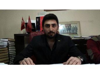Chp Kars Gençlik Kolları Başkanlığı'ndan Cemil Kırbayır Açıklaması