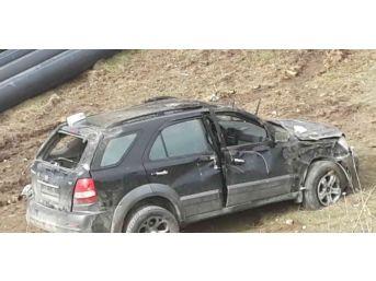 Şaphanede Trafik Kazası: 1 Ölü