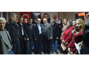 Ahmet Sofuoğlu'na Teşkilatlarda Coşkulu Karşılama
