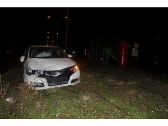 Turgutlu'da Kaza: 3 Yaralı