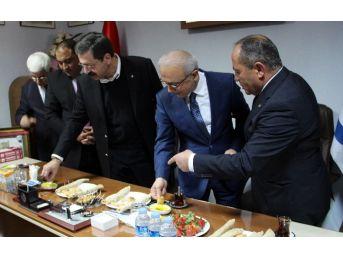 Ulaştırma Denizcilik Ve Haberleşme Bakanı Elvan Mersin'de