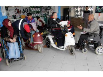 Ordu'da Engelli Araçlarının Bakımını Yapan Işyeri Açtı