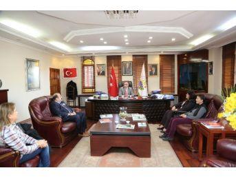 Sapanca Mal Müdürlüğünden Başkan Yılmazer'e Ziyaret