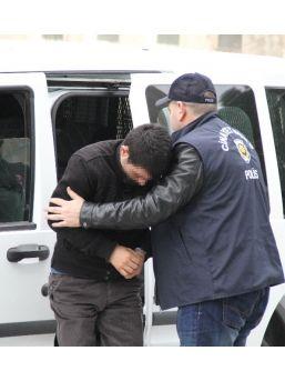 Askeri Silahla Vuran Genç Tutuklandı
