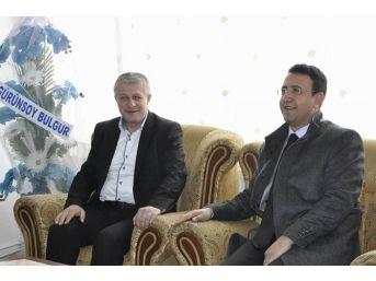 Kaymakam Özdemir, Ak Parti Ve Mhp Teşkilatlarını Ziyaret Etti