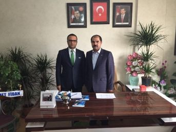 Ak Parti Van Milletvekili Aday Adayı Fidan, Erçiş'te