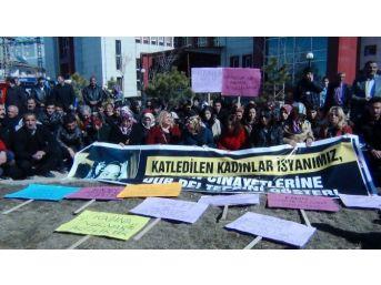 Erciş'te Büşra Çiftçi'nin Öldürülmesi Bir Kez Daha Kınandı