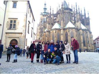 Çiğdemli Çpl Öğrencileri Avrupayı Gezdi
