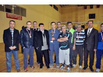 Sorgun Kurumlar Arası Voleybol Turnuvası Tamamlandı