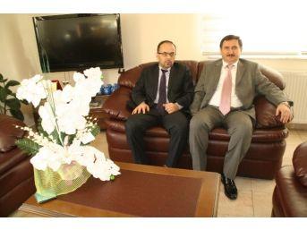 Almanya Zonguldaklılar Derneği Başkanı Karakulak'tan Tso Başkanı Cıvak'a Ziyaret