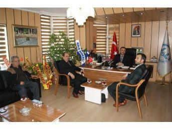 Müftü Araklıoğlu'na Hayırlı Olsun Ziyaretleri Sürüyor