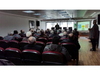 Tarsim Bilgilendirme Toplantısı Çaycuma'da Yapıldı