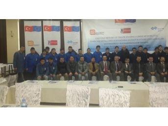 Zonguldak'ta 2014 Erasmus +ka1 Hareketlilik Projesi Bilgilendirme Toplantısı Yapıldı