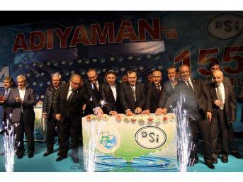 Bakan Eroğlu Adıyaman'da Toplu Açılış Törenine Katıldı