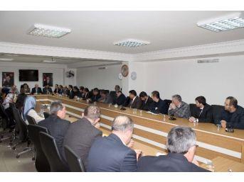 Afyonkarahisar İgm Başkanı Salih Sel İl Partisinin Yönetim Kurulu Toplantısına Katıldı
