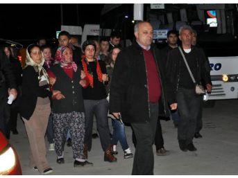 Diyetisyen Kahvecioğlu'Nun Cenazesi Gazipaşa'Ya Getirildi