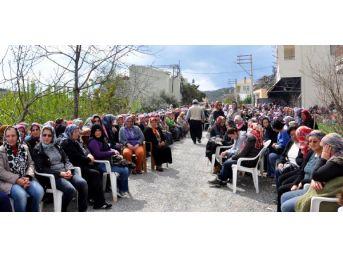 Diyetisyen Yelda Kahvecioğlu, Gazipaşa'da Toprağa Verildi
