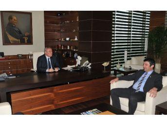 Kumluca Ticaret Ve Sanayi Odası'ndan Atso Başkanı Çetin'e Ziyaret