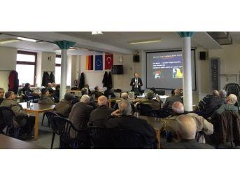 Prof. Dr. Okutan, Almanya'da Gurbetçilerle Buluştu