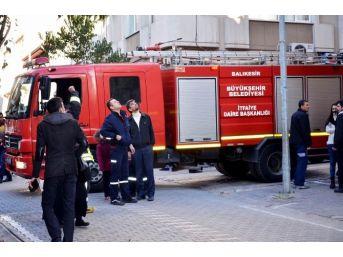 Bandırma'daki Baca Yangını Korkuttu