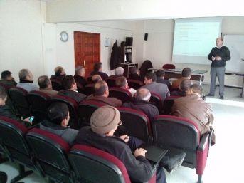 Erzincan Emniyet Müdürlüğü İşçilerine İş Sağlığı Ve Güvenliği Eğitimi