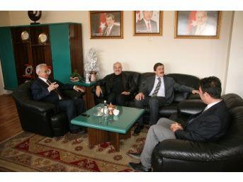Eski Vali Yenigün'den Başkan Başsoy'a Ziyaret